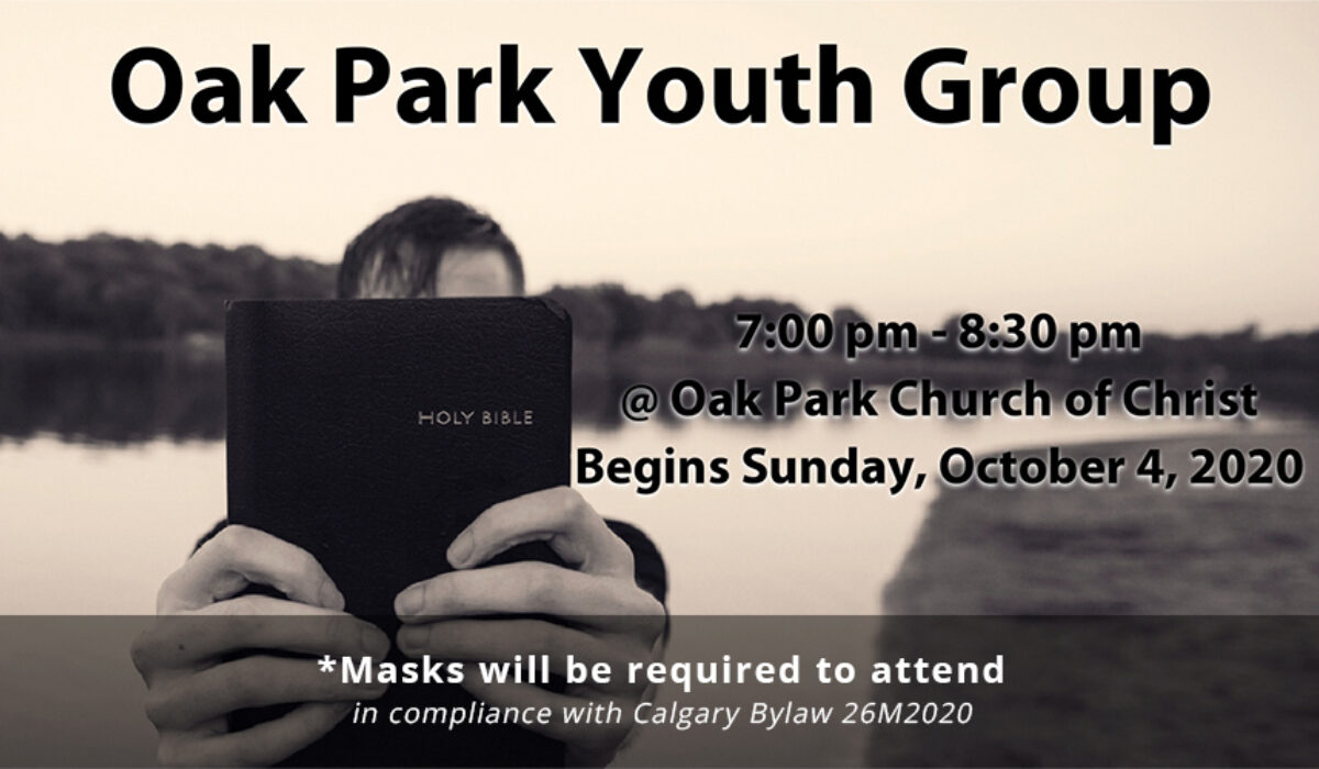 Youth group relaunch