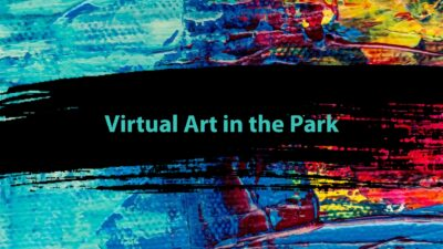 Art in the Park Title Slide