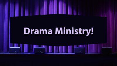 Drama Ministry Ad Simple