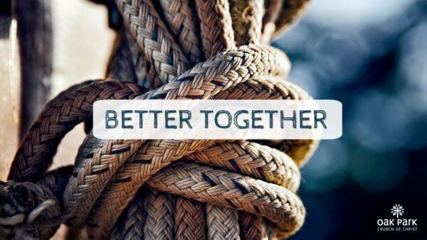 Better Together poster